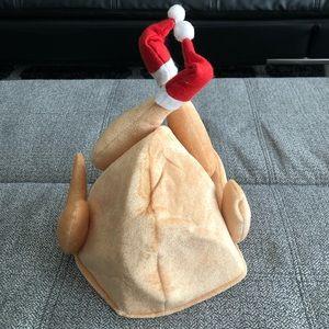 Other - Turkey Hat with Mini Santa Hats